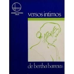 Versos íntimos (Bertha...