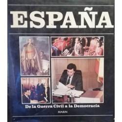 España de la Guerra Civil a...