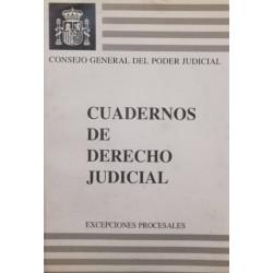 Cuadernos de derecho...