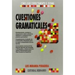 Cuestiones gramaticales:...