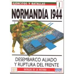 Normandía 1944. Desembarco...
