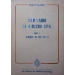 Compendio de derecho civil...