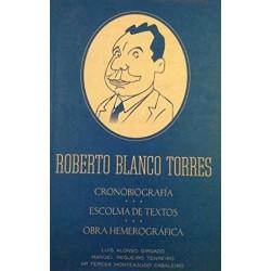Roberto Blanco Torres....