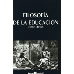 Filosofía de la educación...