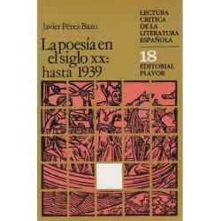La poesía en el siglo XX:...