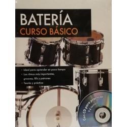 Batería: curso básico +cd...