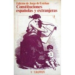 Constituciones españolas y...