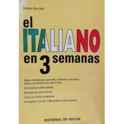 El italiano en 3 semanas...
