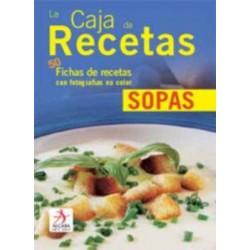 La caja de recetas: sopas....