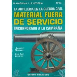 La artillería en la Guerra...