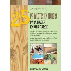 25 proyectos en madera para...