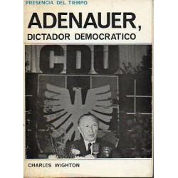 Adenauer, dictador...
