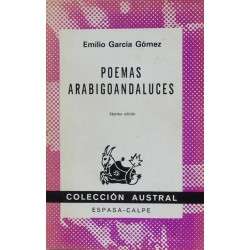 Poemas arabigoandaluces...