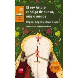 El rey Arturo cabalga de...