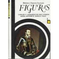 Figuras: Carlos V, Leonardo...