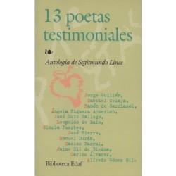 13 poetas testimoniales...