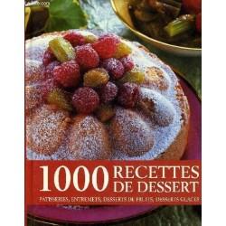 1000 recettes de dessert:...