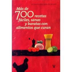 Más de 700 recetas fáciles,...