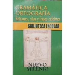 Gramática. Ortografía....