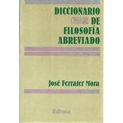 Diccionario de filosofía...