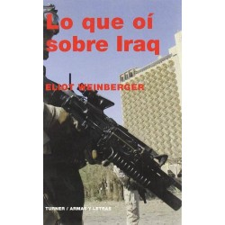 Lo que oí sobre Iraq (Eliot...