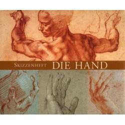 Skizzenheft Die Hand....