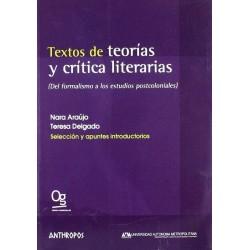 Textos de teorías y crítica...