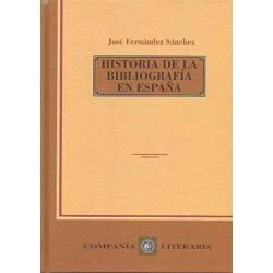 Historia de la bibliografía...