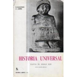 Historia universal. Vol.1:...
