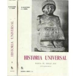 Historia universal. 2 vols....