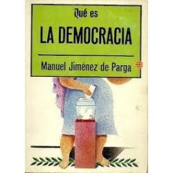 Qué es la democracia...
