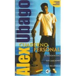 Alex Ubago, cuaderno...