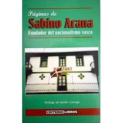 Páginas de Sabino Arana,...
